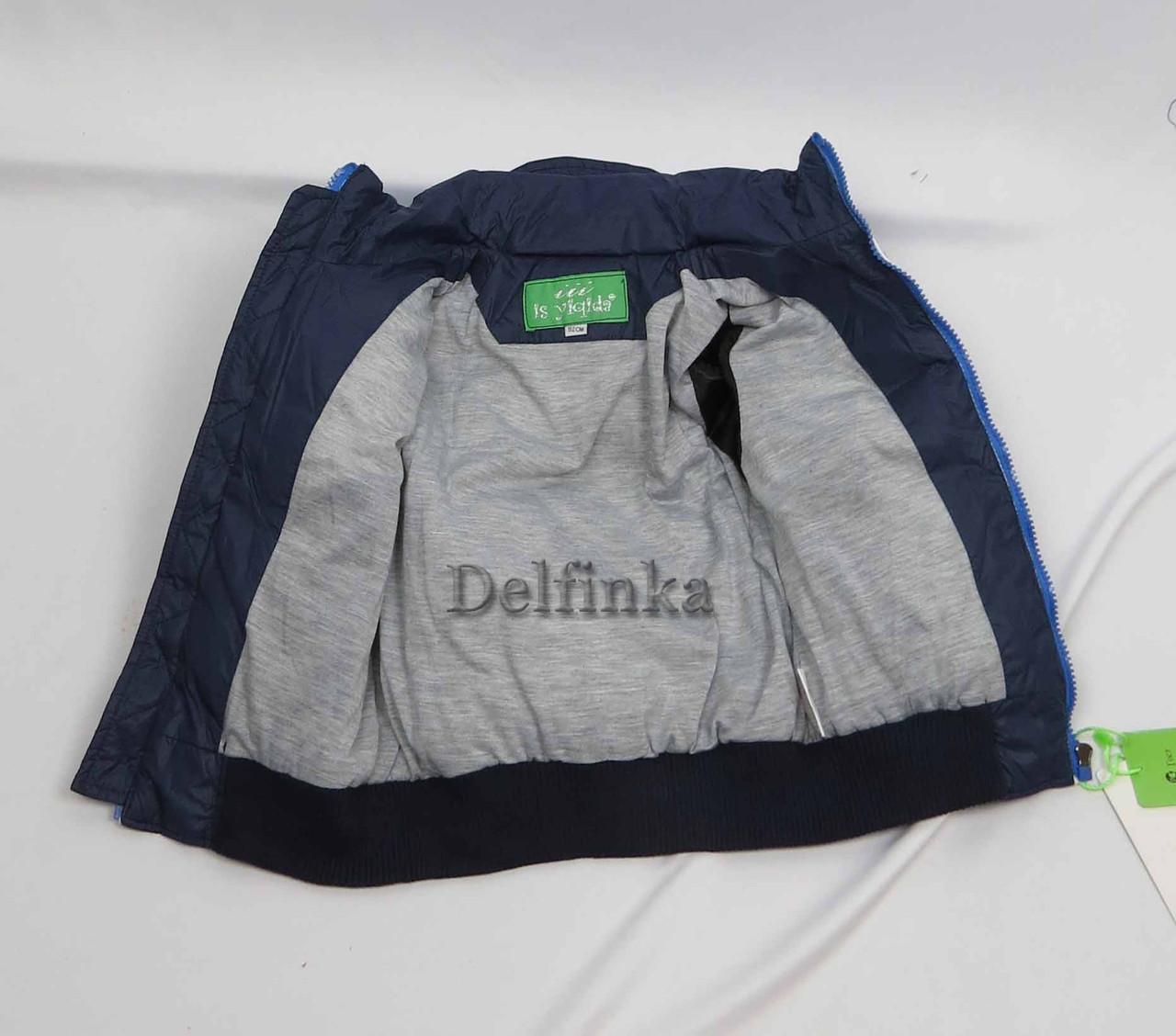 Куртка демисизонная теплая,код 7-38, размеры рост 92 см - 116 см, размеры 2 лет - 5 лет, фото 3