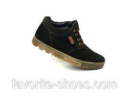 Зимние мужские ботинки замша Braxton