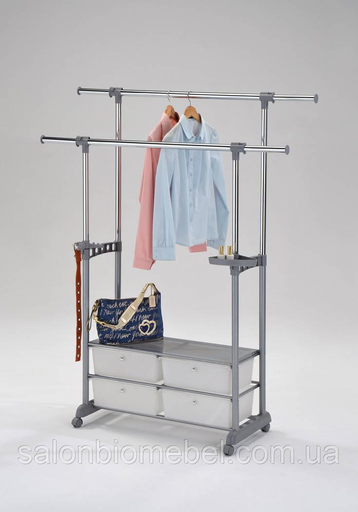 Стойка для одежды W-69 с ящиками