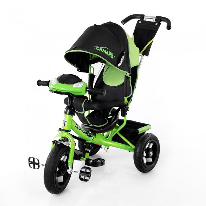 Велосипед трехколесный Baby Tilly Camaro T-362 фара зелёный