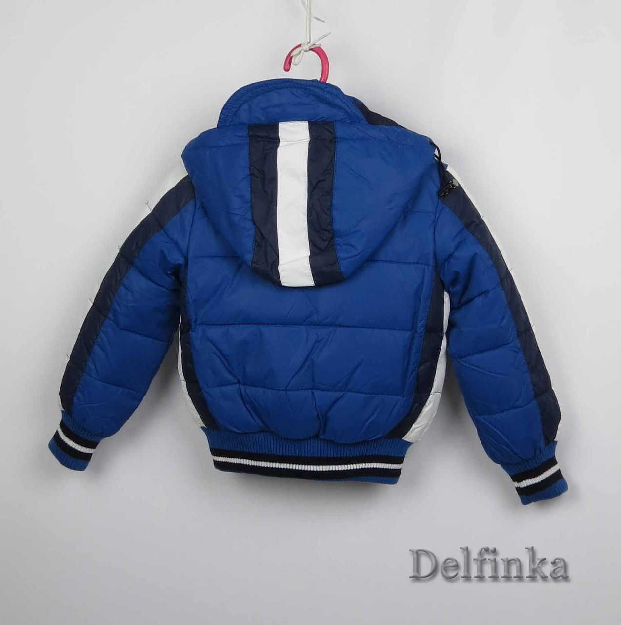 Куртка демисизонная теплая,код 7-38, размеры рост 92 см - 116 см, размеры 2 лет - 5 лет, фото 2