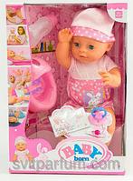 Пупс Baby Born (Бейби Борн) с аксессуарами и одеждой (6 функций) YL1710A