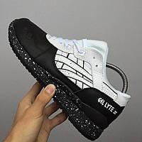 Мужские кроссовки  Asics Gel-Lyte 3 Oreo Black/White(ТОП РЕПЛИКА ААА+)