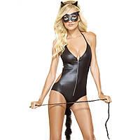Эротический костюм кошки, костюм женщины кошки