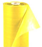 Пленка парниковая желтая, УФ 12мес., 100мкм, рукав 1,5х2, рулон 100м