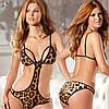Леопардовое белье женское эротическое