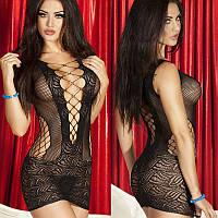 Эротическое кружевное платье, эротическое нижнее белье, эротическое женское белье черное