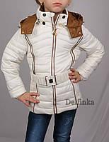 Куртка весна-осень, демисизонная, 6-11 лет размеры рост 122 см - 146 см, фото 1