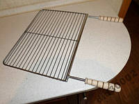 Решетка для мангала- 500х300 Нержавейка.