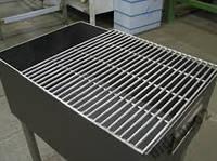 Решетка для гриля на мангал 60х35 см.