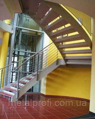Лестницы на косоурах и тетивах