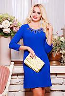 Женское  платье Клер электрик 42-50 размеры