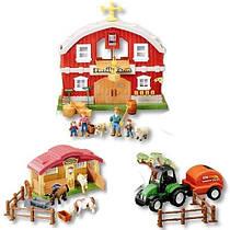 Игровой набор Ферма со звуком и светом