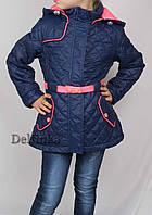 Куртка весна-осень, демисизонная, код-L-166,размеры с 6 до 9 лет размеры рост 122 см - 134 см