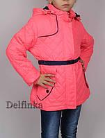Куртка весна-осень, демисизонная, код-L-166,размеры с 6 до 11 лет размеры рост 122 см - 146 см, фото 1