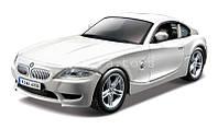 Автомодель BMW Z4 M COUPE синий, белый  металлик, 1:32 Bburago (18-43007)