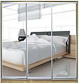 Шкаф-купе 3-х дверный Стандарт-1  фасады зеркала