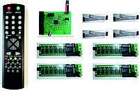 Комплект электроники для табло обмена валют на  3 валюты KSV4-3