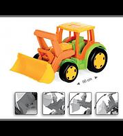 Wader Детский трактор с ковшом 66005