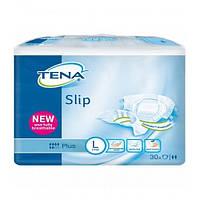 Подгузники для взрослых TENA Slip Plus Large 30 шт. (дышащие)