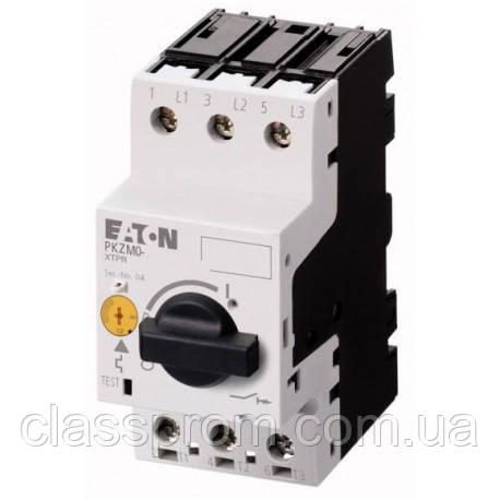 Автомат защиты двигателей 3-полюс., PKZM0-0,63 EATON