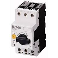 Автомат защиты двигателей 3-полюс., PKZM0-1 EATON