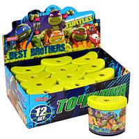 """Точилка  цветная с контейнером """"Ninja Turtles"""""""