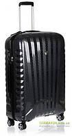Дорожный чемодан из поликарбоната на 4-х колесах (средний) Roncato Uno Zip Deluxe Limited Edition 5212 карбон