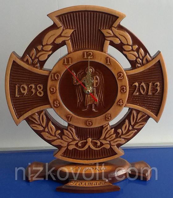 """Сувенирные часы """"Архангел Михаил"""" на подарок"""
