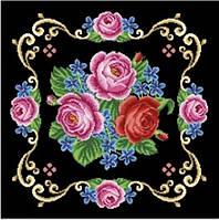 """Заготовка для вышивания подушки """"Розы"""""""