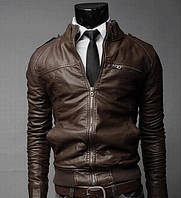 Уценка! Мужская куртка Marble Eco Leather