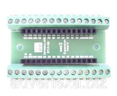Терминальный адаптер для модуля Arduino Nano V3.0