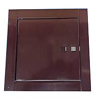 Ревизионный люк (коричневый), фото 1