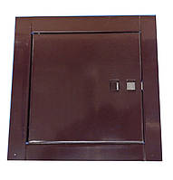 Ревизионный люк (коричневый) 14x14