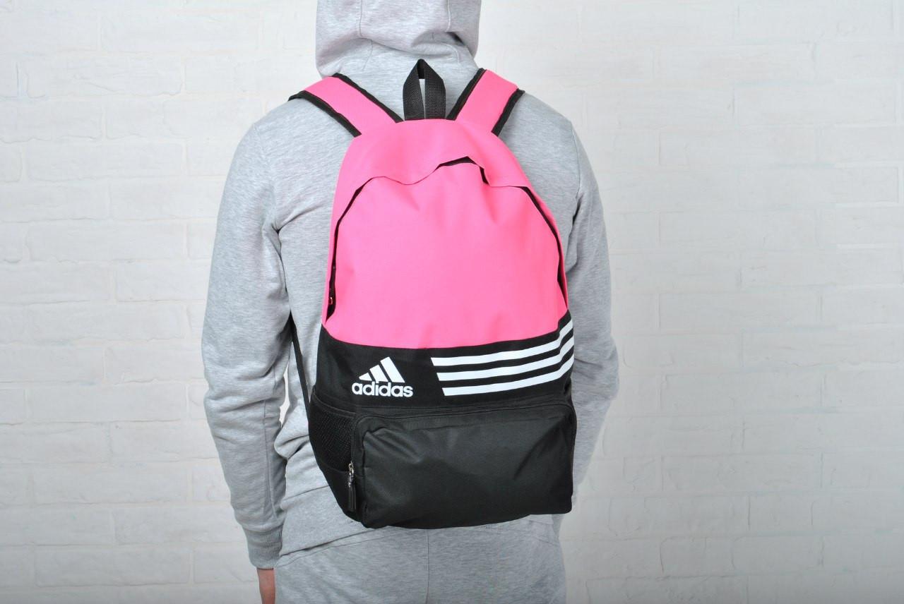 Женский спортивный рюкзак адидас (Adidas) реплика -