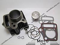 Цилиндро-поршневая группа 72cc на мопед 4т FMB Alpha/Delta D=47mm GXmotor