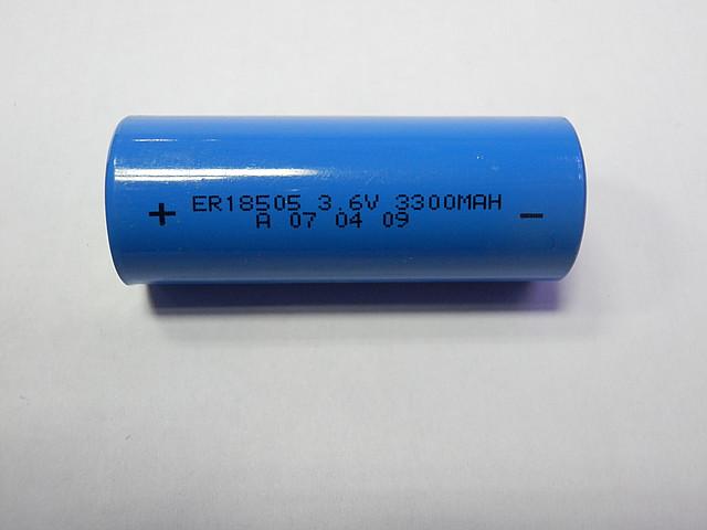 Батарейка Lisun ER18505 A Li-S0CI2 (3.6V 3300mAh)