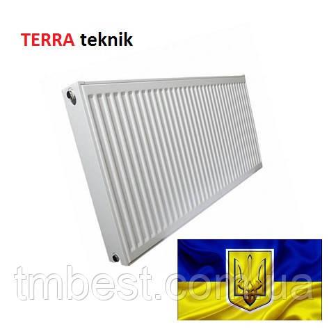 Радиатор стальной TERRA teknik 500*1000  22 ТИП (Украина), фото 2