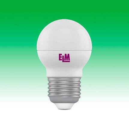 Светодиодная лампа LED 6W 4000K E27 ELM D45 (18-0041), фото 2