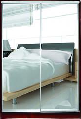 Шкаф-купе 2-х дверный Стандарт-1 зеркало/зеркало