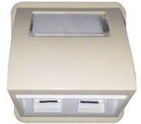 Корпус комунікаційний 2-й (нахил) AMP Регіна 13022401 білий