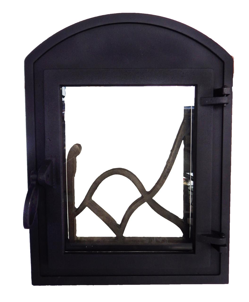 Каминная дверца - VVK 35 х 46 см/26х32см