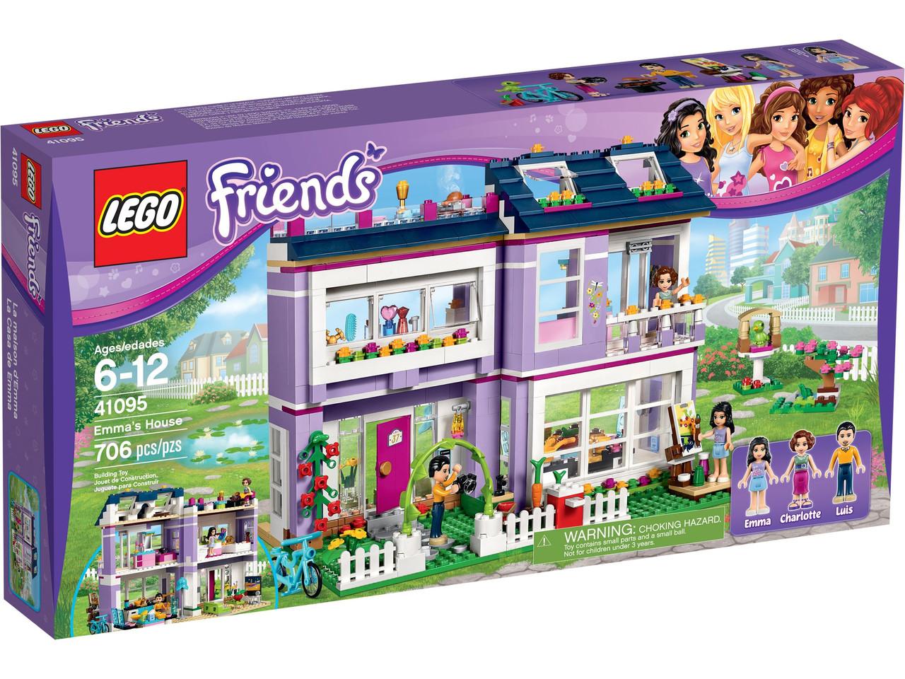 LEGO Friends -  Будиночок Емми (41095) Домик Эммы