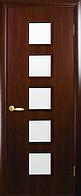 Двери межкомнатные Новый стиль Фора орех 3d ПО