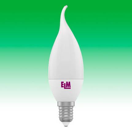 Светодиодная лампа LED 4W 4000K E14 ELM C37 (18-0042), фото 2