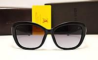 Женские солнцезащитные очки Louis Vuitton 6111 черный цвет
