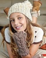 Теплые вязанные шапки и уход за ними
