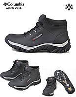 Кожаные зимние ботинки Каламбия