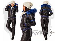 Женский спортивный костюм на меху 42+, Фабрика Моды