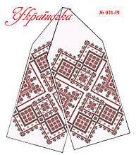 Заготовка рушника для иконы (узкий) №021